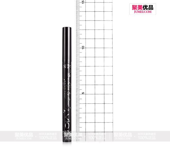 VIC专业眼线液笔 黑色 1.2g,测量