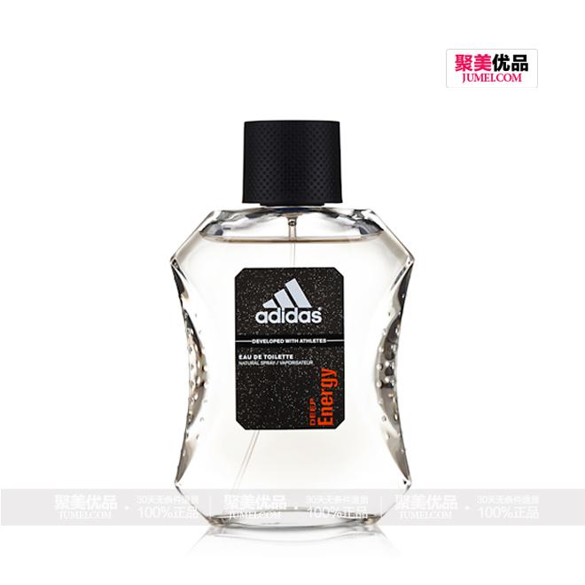 阿迪达斯潜能男士香水(新款)100ml,产品正面