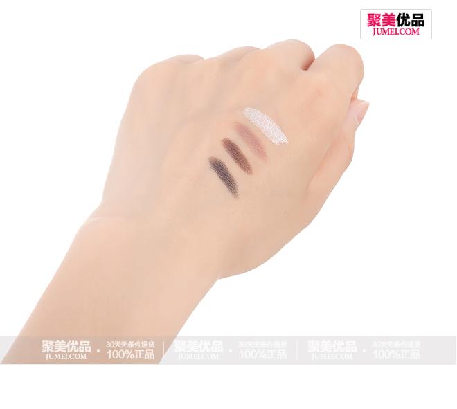 卡姿兰立体缤纷4色眼影 6.8g(7#烟熏色系)