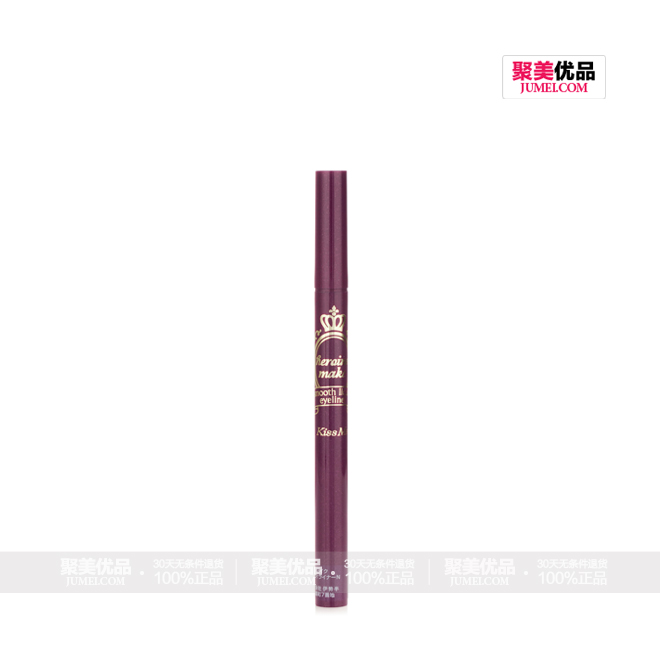 KISS ME奇士美0.1mm防泪皮脂眼线液笔超黑色(新包装),正面