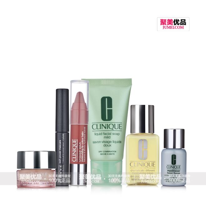 【分享】倩碧(clinique)经典产品礼包六件套