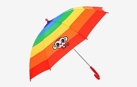 防晒可爱小猴子童伞