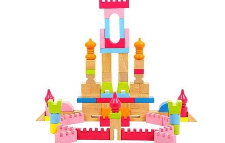 积木搭建城堡步骤