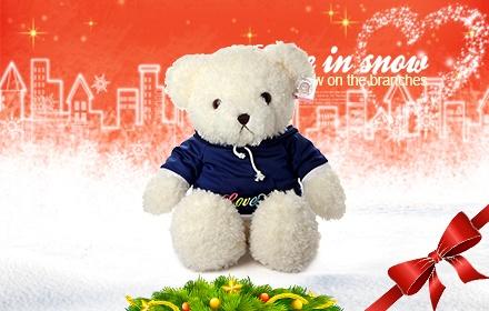圣诞抢鲜可爱毛绒玩具拼场