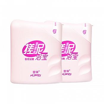 中国•宣琪桃花幼嫩搓泥浴宝沐浴露200ml*2