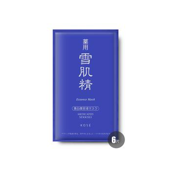 日本•雪肌精蕴皙精华面膜 24ml×6片