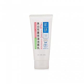 美国•曼秀雷敦(Mentholatum)肌研美白双重保湿洁面乳100g