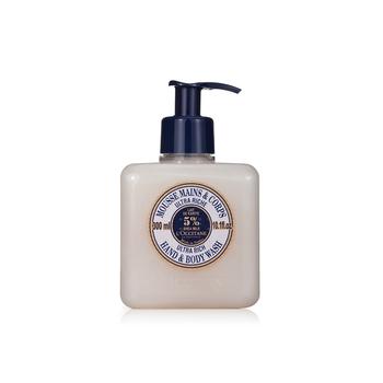 法国•欧舒丹(L'OCCITANE)乳木果温和手部身体沐浴乳 300ml