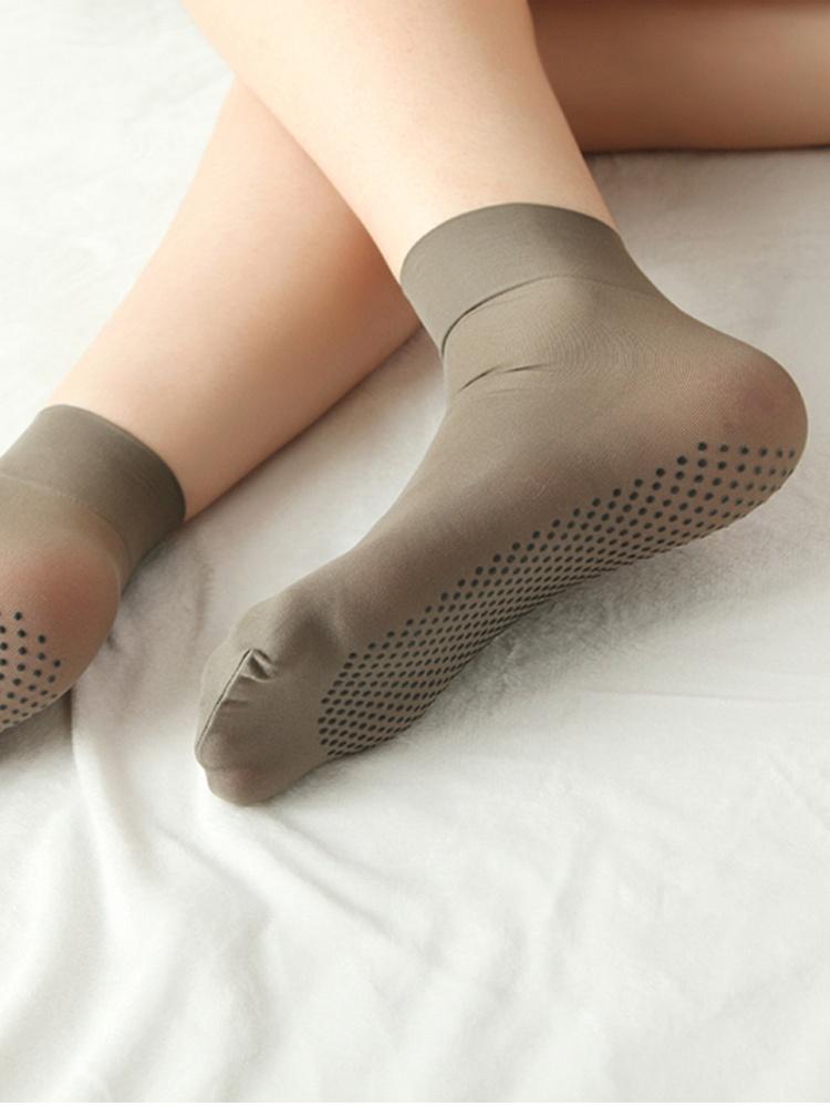 脚底有花纹的丝袜
