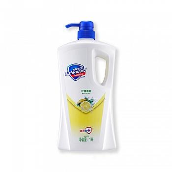 美国•舒肤佳(Safeguard)柠檬清新(香)沐浴露1L