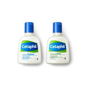 加拿大•丝塔芙 (Cetaphil)套装(洁面乳118ml+润肤乳118ml)