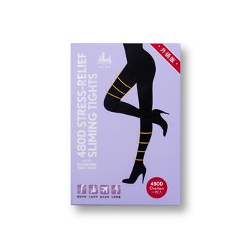 中国•魔法城堡480D舒压纤腿连裤袜一条装