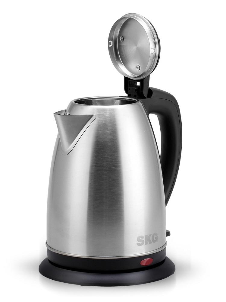 skg 全不锈钢电热水壶2l 快煮水壶自动断电电水壶