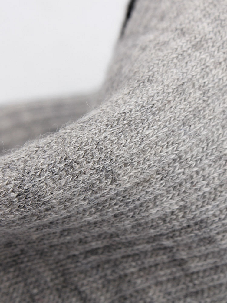 艾莎莉 7双装灰色精梳棉男星期袜 聚美优品