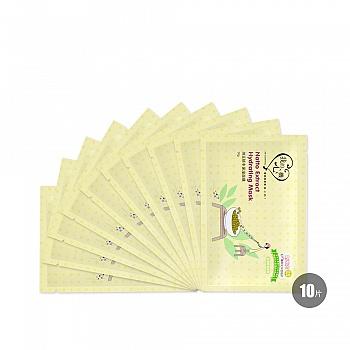 中国台湾•我的心机纳豆锁水保湿面膜 30gx10片