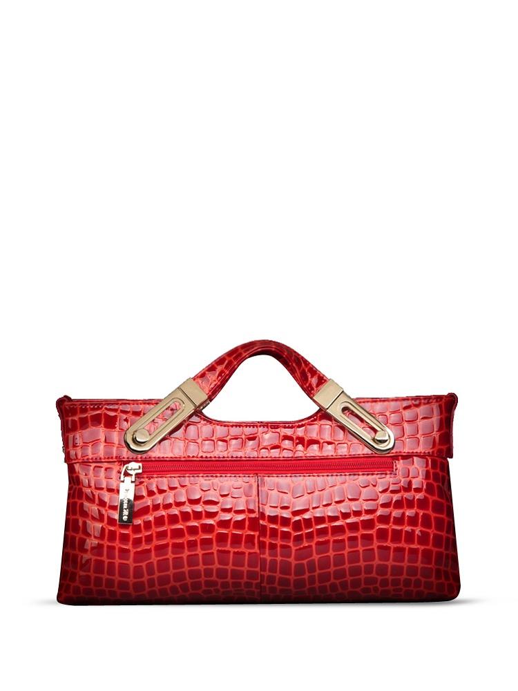 朱尔欧美链条鳄鱼纹手提包-聚美优品-名品特鸥根纱连衣裙图片