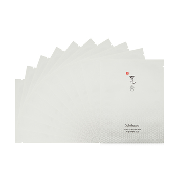 韩国•雪花秀滋晶雪肤美白面膜20gx10片