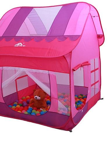 澳乐 红色趣味大房子儿童帐篷