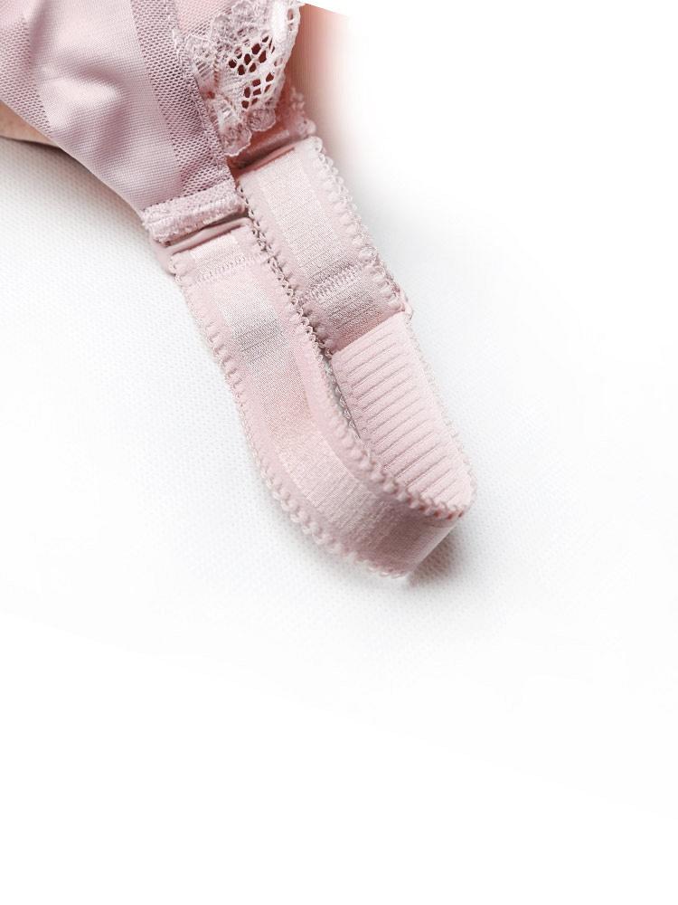 艾莎莉藕粉文胸薄小女孩13性感黑色穿丝袜胸型聚拢1名品-聚美优品-性感图片