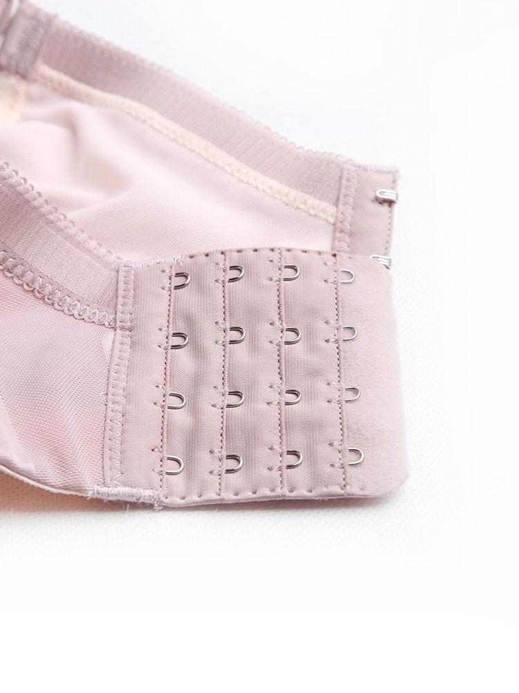 艾莎莉藕粉文胸表达性感如何内胸型聚拢1名品-聚美优品-性感图片