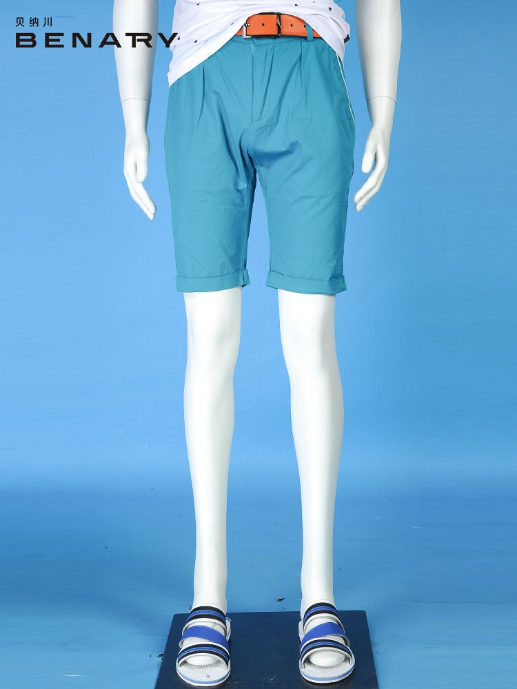 贝纳川 男士夏季穿棉休闲短裤图片
