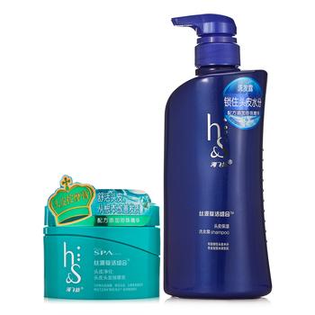 海飞丝丝源复活组合头皮保湿洗发露 530ml+头皮净化头皮头发按摩膏200g