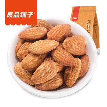 良品铺子 奶香扁桃仁零食210g/袋
