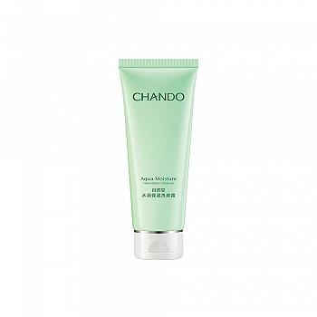 中国•自然堂(CHANDO)水润保湿洗颜霜(各种肌肤适用)100g