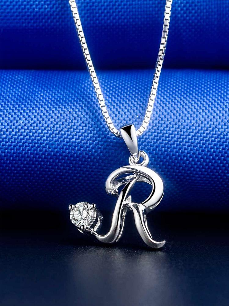 Doido\/爱度 18K钻石吊坠字母系列-R - 聚美优品
