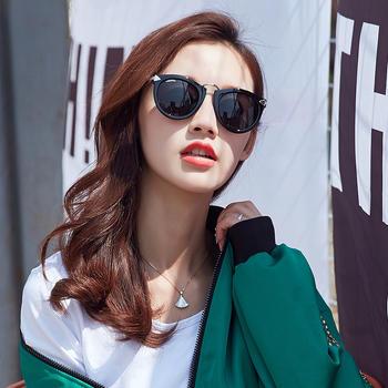 威古氏时尚墨镜大框女士太阳镜