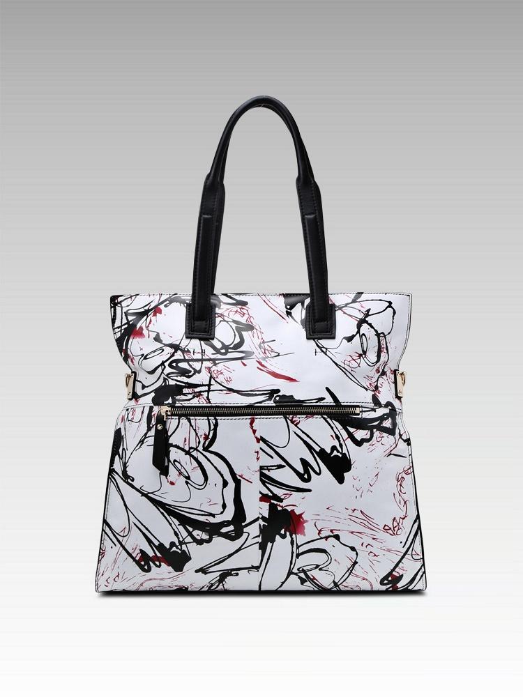 folio 时尚中国风古典水墨手提包 - 聚美优品 - 最