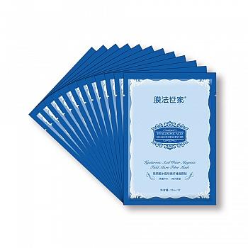 中国•膜法世家玻尿酸水磁场微纤维面膜贴25ml/片*12片