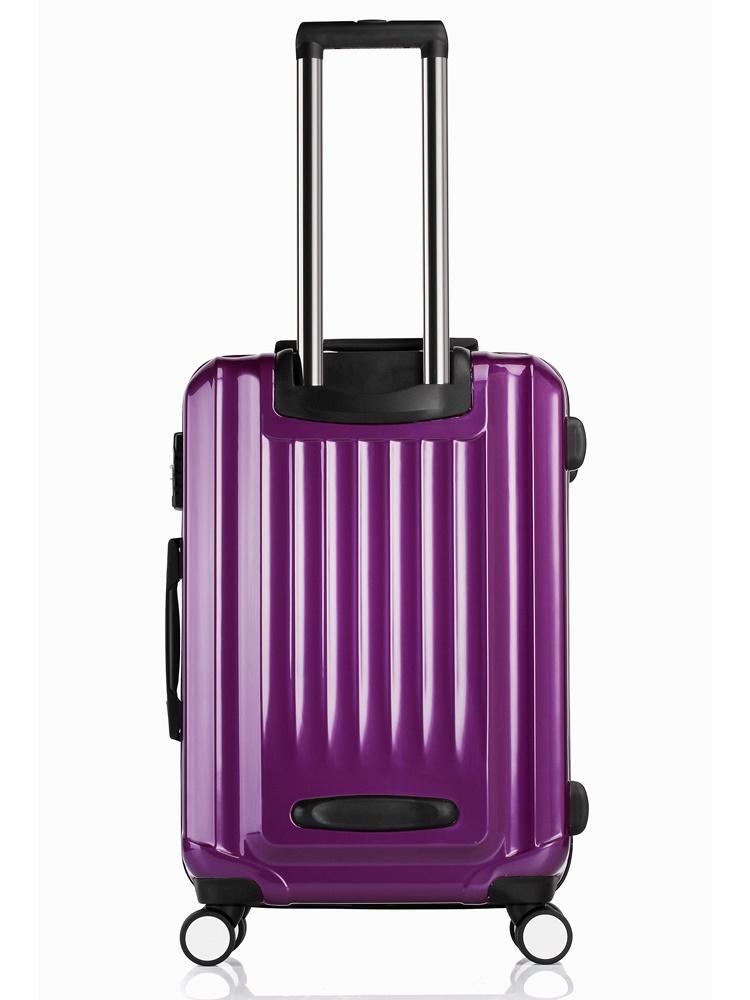 紫色28寸拉杆箱 - 聚美优品