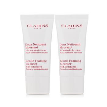 法国•娇韵诗 (Clarins)温和泡沫洁面膏 30ml*2