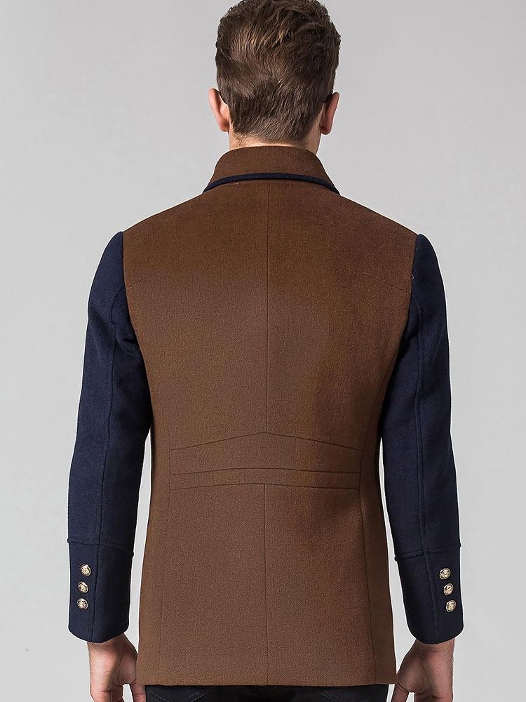 恒源祥时尚休闲拼接羊毛呢大衣-聚美优品-最浅析光影在室内设计图片