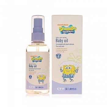 海绵宝宝 (SpongeBob)婴儿橄榄油 100ml