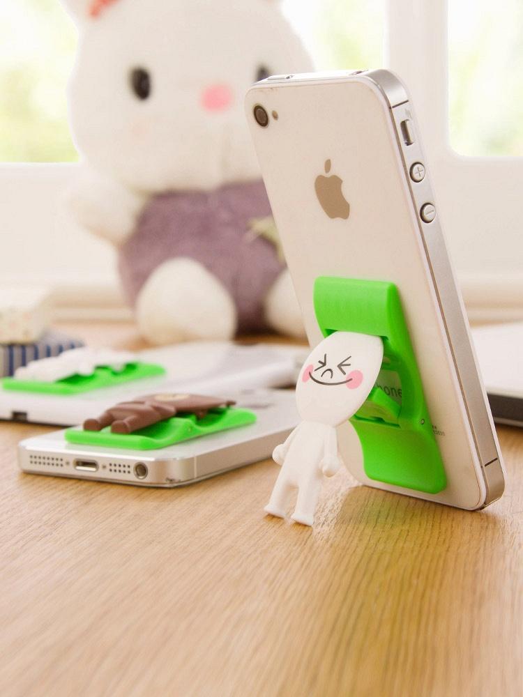 卡通可折叠手机架 - 聚美优品