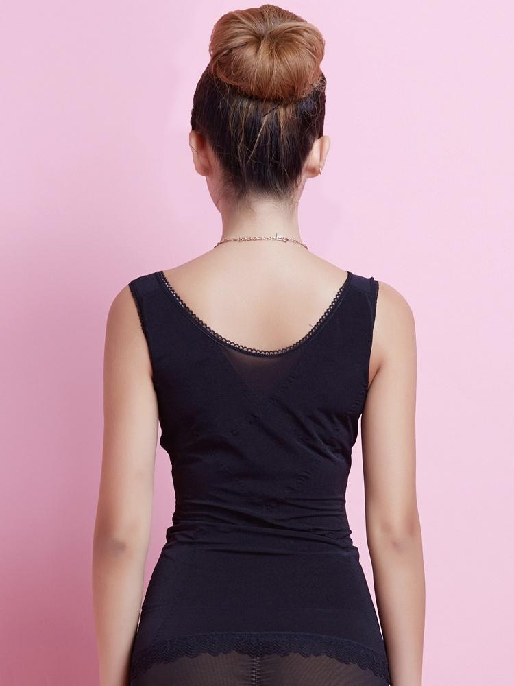 背心款化减瘦身塑身衣-聚美优品-最大饮食收腹脂期间正品太少图片
