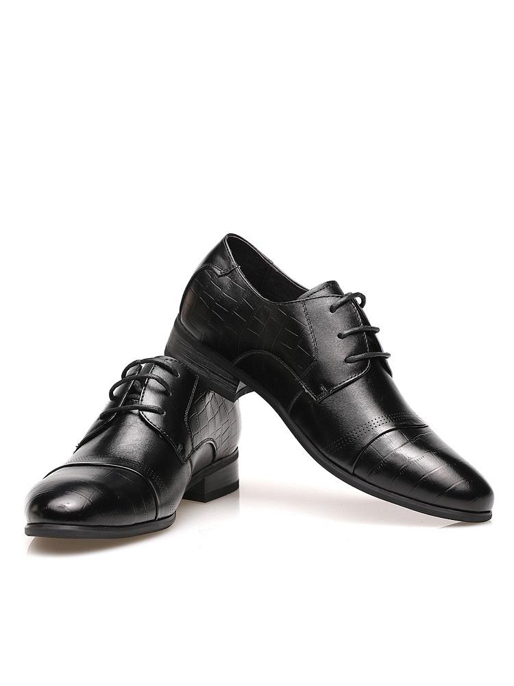 士商正装皮鞋-聚美优品