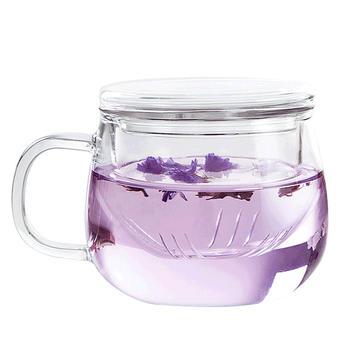 耐热创意过滤花茶杯透玲珑杯