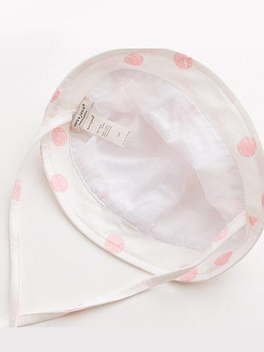 婴儿纯棉印花帽子 - 聚美优品