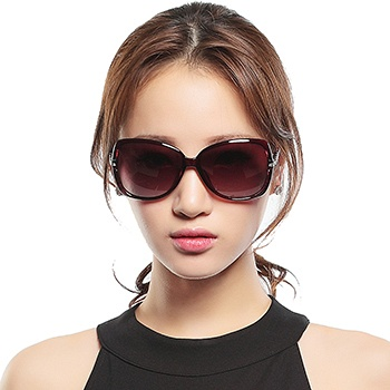 三氏女款时尚偏光太阳镜8511