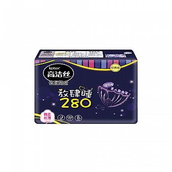 美国•高洁丝(Kotex)丝薄棉柔卫生巾夜用280mm8片