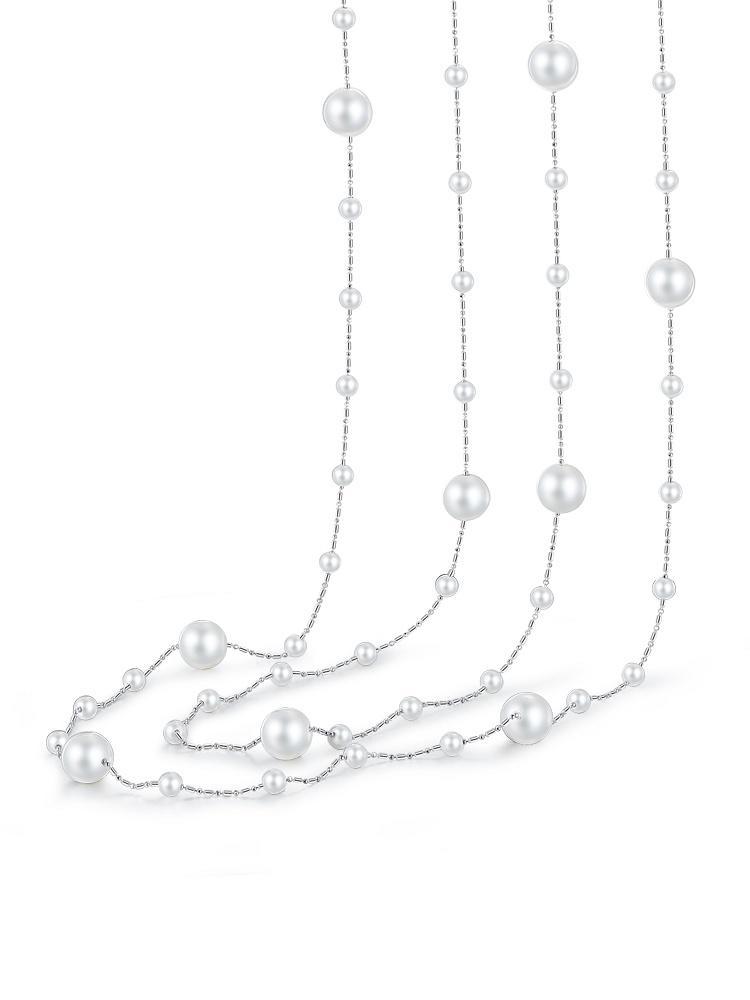 高档珍珠首饰手绘设计图