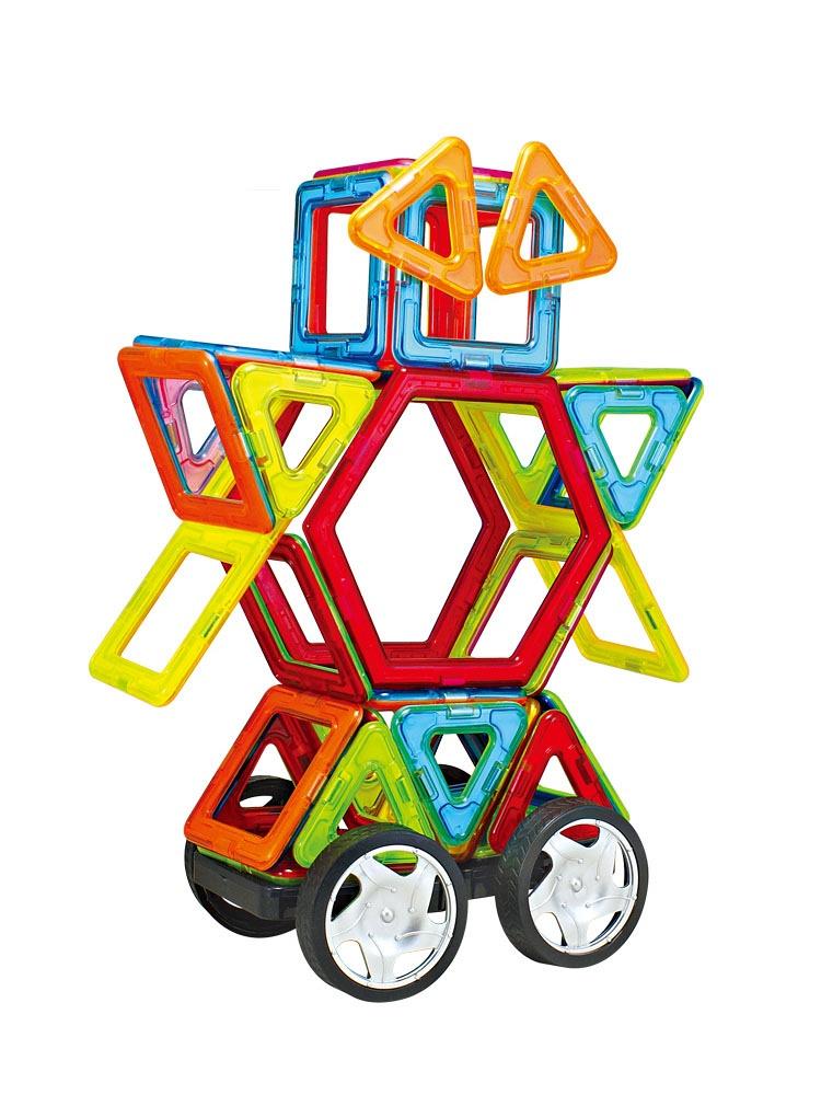 全美喜羊羊磁力片百变提拉磁力片积木儿童玩具