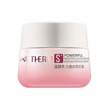 中国•温碧泉(WETHERM)力透白雪肌霜50g