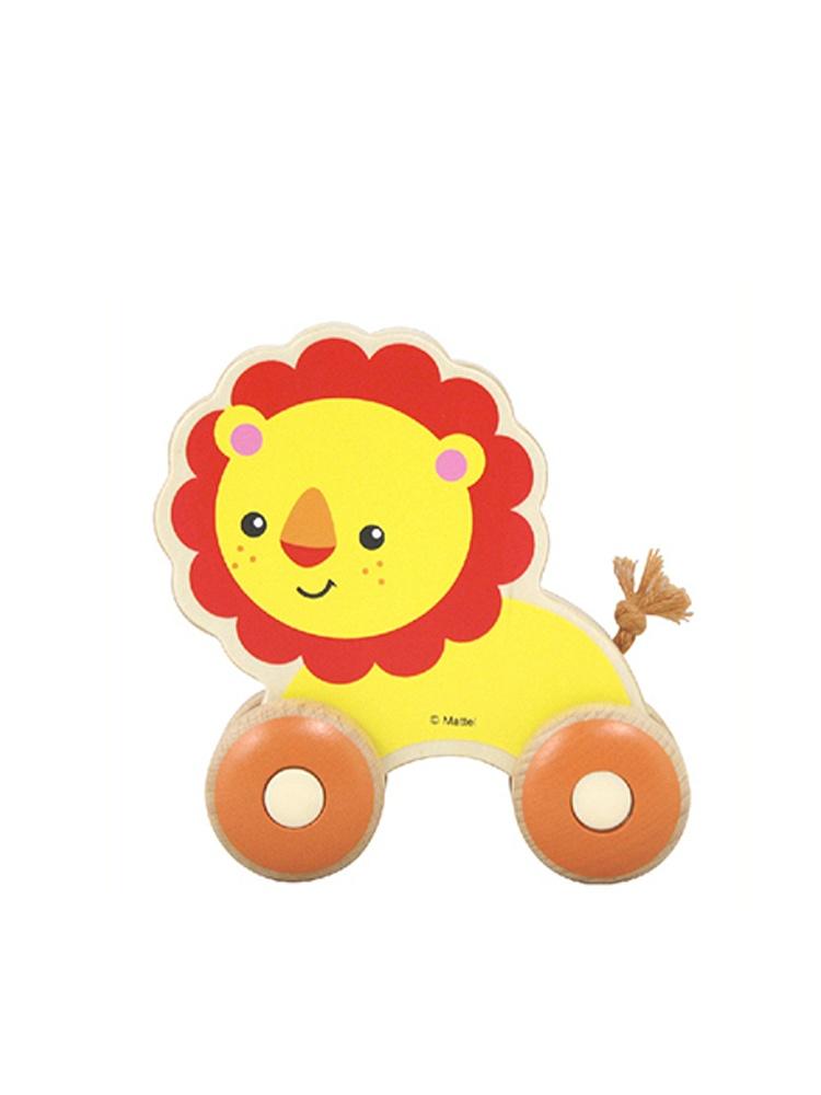 木质学爬行小动物玩具