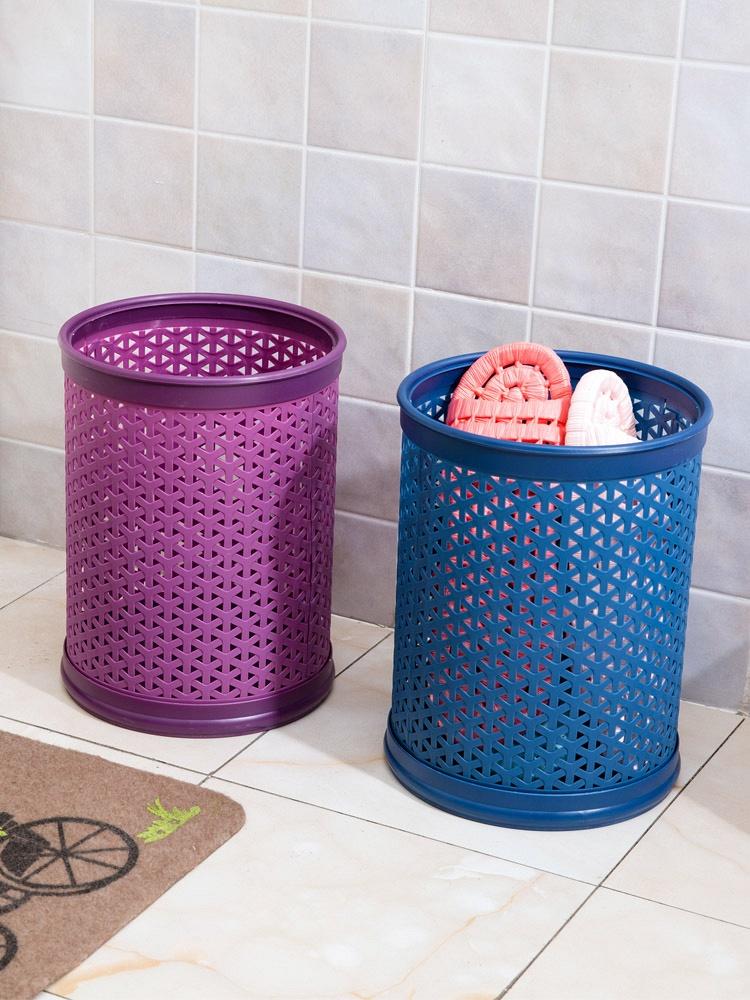 diy组装塑料家用垃圾桶