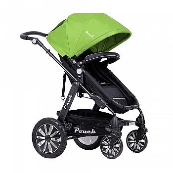 Pouch高景观婴儿推车P680 旗舰绿