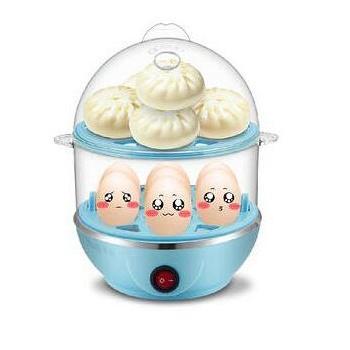 乐高家居多功能不锈钢碗煮蛋器